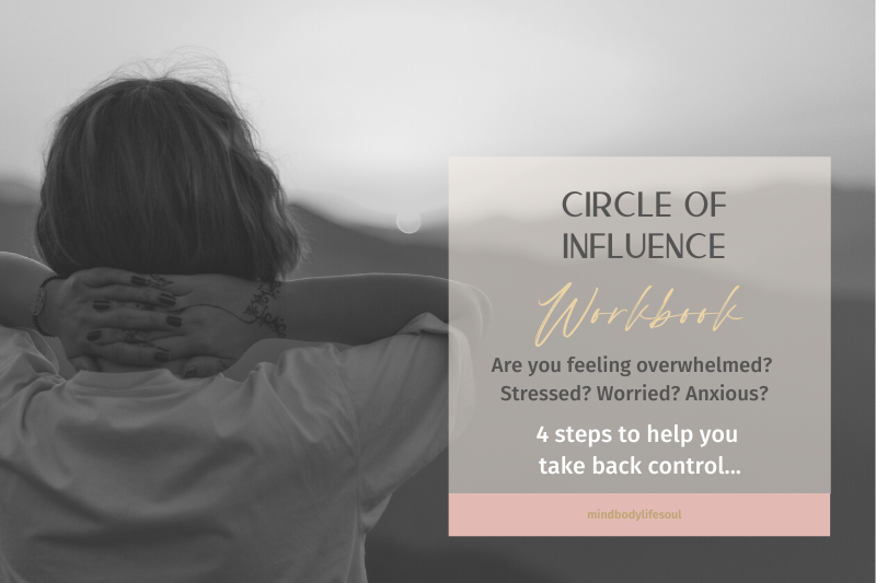 Overcoming Overwhelm: Circle of Influence