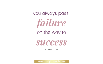 Failing fast, failing forward