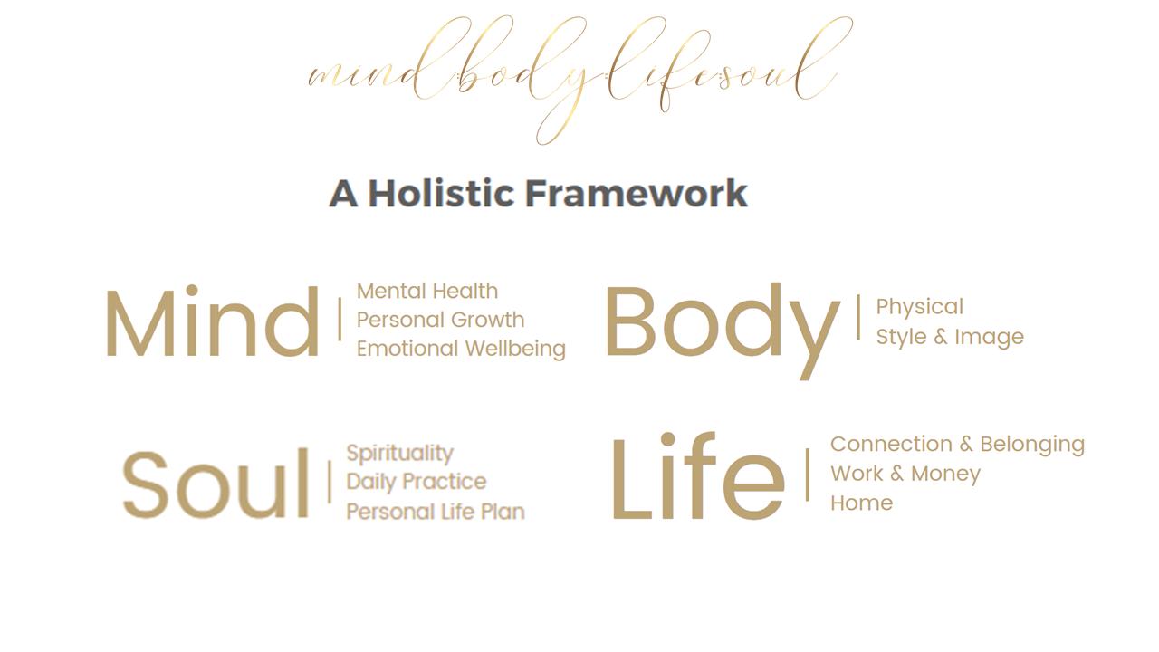 Mind:Body:Life:Soul Holistic Framework