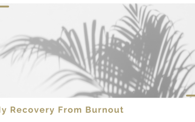 Allow yourself to face into burnout and see what happens…